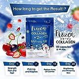 Frozen Collagen gluta 2 in 1 whitening x10