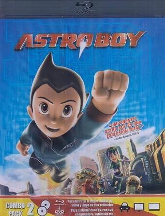Astro Boy Blu-Ray Combo Pack 2 DVD+BLU-RAY DISC: Amazon.es: Cine y ...