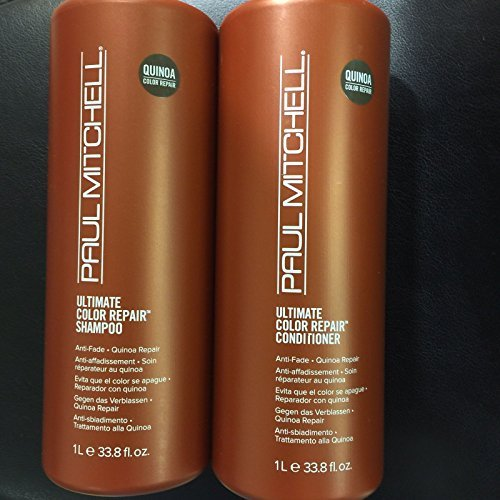 Paul Mitchell Ultimate Color Repair Shampoo and Conditioner Duo,33.8 fl oz