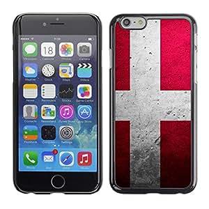 MOBMART Carcasa Funda Case Cover Armor Shell PARA Apple iPhone 6 PLUS / 6S PLUS 5.5 - Denmark Pavement Symbol