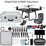 DJI Phantom 4 Pro+ Obsidian Quadcopter Drone with Spare Battery + Hard Case Bundle
