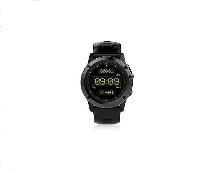 Smart Watch Bracelet Smart Watch H1 Android System 5.1 Posicionamiento Dual-Core IP68 Impermeable Reloj Inteligente Termómetro, Presión de Aire, ...