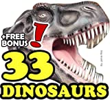 The 33 Greatest Dinosaurs (33 Animals   Animal Fact Books for Kids Book 6) (English Edition)