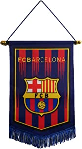 "Louishop Football Club Indoor and Outdoor Flags Vivid Color Hanging Flags Decor for Bedroom/Club/Bar/Office 15""x9.4"""