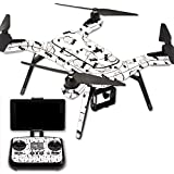 MightySkins Protective Vinyl Skin Decal for 3DR Solo Drone Quadcopter wrap cover sticker skins Raining Cats