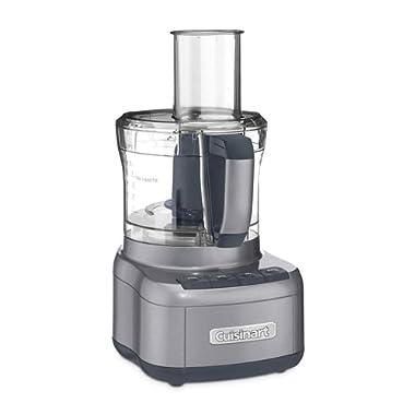 Cuisinart FP-8GMFR 8 Cup Food Processor, Gunmetal (Renewed)