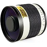 Opteka 500mm f/6.3 HD Telephoto Mirror Lens for Nikon D4s, D4, D3x, Df, D810, D800, D750, D610, D600, D7100, D7000, D5300, D5200, D5100, D3300, D3200, D3100 and D3000 Digital SLR Cameras