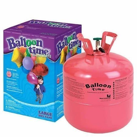 (Balloon Time Disposable Helium Tank)