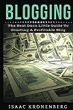 Blogging: The Best Darn Little Guide To Starting A Profitable Blog (Blogging For Profit) (Volume 1)