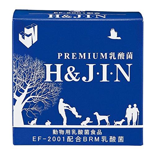 動物用プレミアム乳酸菌 H&JIN 450g B0719R23LB  1g×90包 1g×90包