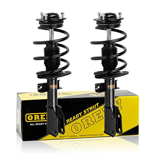 - OREDY Front Pair Complete Struts Shocks Coils Spring Assembly AWD Only Compatible with Buick Enclave 2008-2012/Chevy Traverse 2009-2012/GMC Acadia 2007-2012/2007-2010 Saturn Outlook 172518 G57109