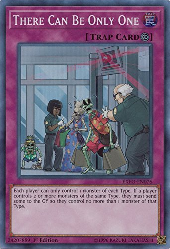 There Can Be Only One - EXFO-EN076 - Super Rare - 1st Edition - Extreme Force (1st Edition)