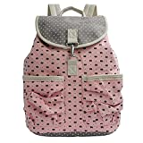 Korean cute backpack carryall traveling bag with students ' canvas bag