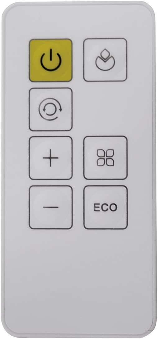Télécommande 1300-2000 W ECO Fakir Prestige HT 400//turmheizlüfter Incl