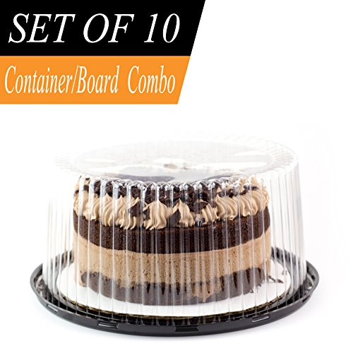 Plastic Box For Cake Each Container Holds 4 Cupcakes