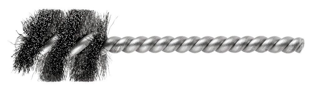 Single Stem//Spiral.005 PFERD 83400 SpyraKleen Tube Brush Pack of 36 1//4 Stem 1 Brush Part Length INOX Stainless Steel Wire 7//8 Diameter