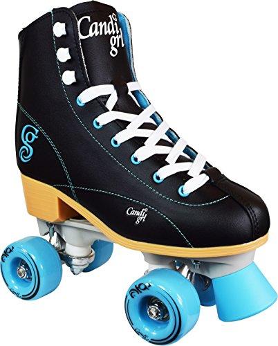 Roller Derby  Rewind Unisex Roller Skates (Size 09) - Black/Teal