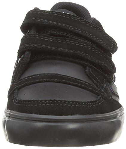 Hummel Stadil Jr Velcro, Chaussons Sneaker Mixte Enfant Schwarz