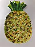 Outdoor Collection Melamine Pineapple Appetizers Plates Set of 6