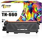 Toner Bank Compatible TN 660 Toner for Brother TN630 Brother Toner TN660 Black Ink Brother Monochrome Laser Printer MFC-l2740DW MFC-l2700DW HL-l2340DW HL-l2300D HL-l2380DW HL-l2360DW DCP-l2540DW