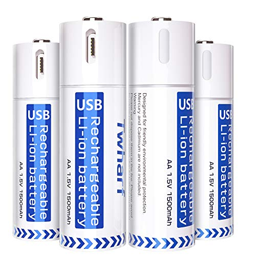 10 Best Usb Rechargeable Batteries
