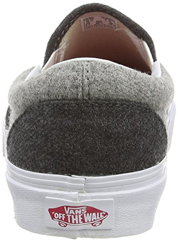 Adulte Mixte Sport Pewt Slip U Wool Wool Gris Baskets Sport on Classic Basses Vans qUz81