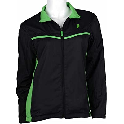 Prince WarmUp Jacket Women's (Black/Green)