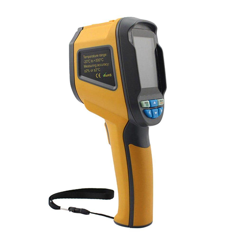 D DOLITY HT-02 60 X 60 3600 Pixels Thermal Imaging Camera Infrared IR Imager -20°C ~ +300°C with Carry Bag