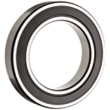 SKF 607-2RSH/LHT23 Deep Groove Ball Bearing, Double Sealed, Steel Cage, C3 Clearance, 7mm Bore , 19mm OD, 6mm Width, 43000 rpm Maximum Rotational Speed, 139lbf Static Load Capacity, 387lbf Dynamic Load Capacity