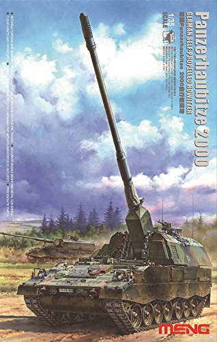 Meng Models German Panzerhaubitze 2000 Self-Propelled Howitzer Model Kit (1/35 - Self Howitzer Propelled