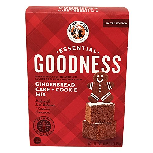 Drop Scones (Limited Edition Essential Goodness Gingerbread Cake And Cookie Mix! Made With Real Molasses And Premium Cinnamon! Tastes Just Like The Holidays! Delicious!)