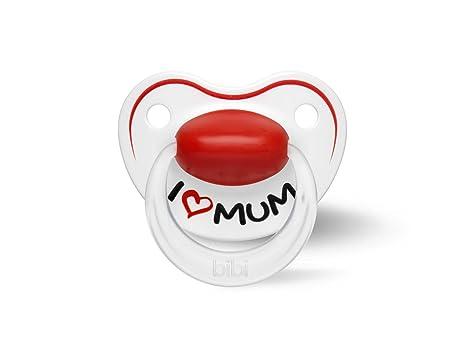 Bibi Happiness Chupete (0 - 6 meses, I Love Mum) I Love Mama ...