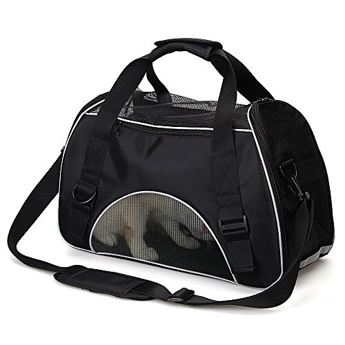 Puppy Carrier - Small Dog Carrier, Dog Carriers for Small Dogs Cat Carrier Pet Carrier Airline Approved Pet Carriers for Cats, Rabbit Carrier Holds Up To 8 Lbs Perfect for Small Pet Traveling