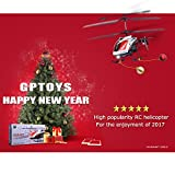 "GPTOYS G610 11"" Durant Built-in Gyro Infrared Remote Control Helicopter 3.5 Channels with Gyro and LED Light for Indoor Outdoor Ready to Fly"