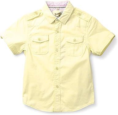 Aeslech Little Big - Camisa de manga corta con estampado de ...