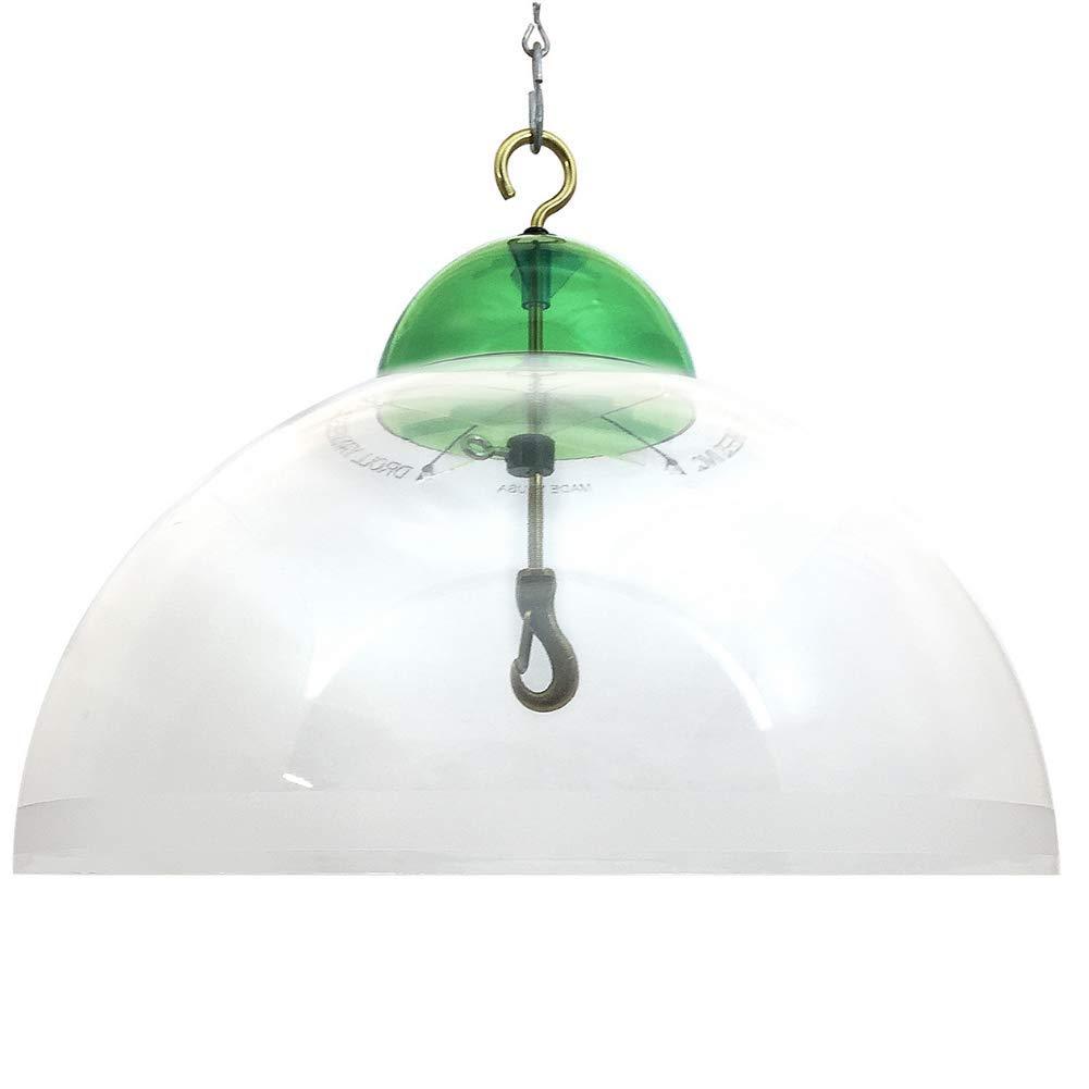 Droll Yankees Green SQG 15-Inch Dome Squirrel Guard
