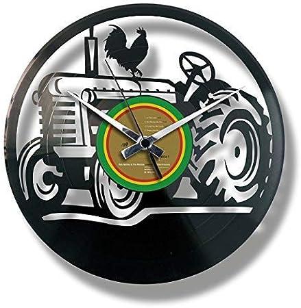 Discoclock Disc O Clock Horloge Mural En Vinyle Lp 33 Tours