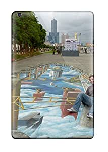 Amy Poteat Ritchie's Shop New Style Case Cover Sidewalk Art Compatible With Ipad Mini 2 Protection Case