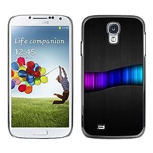 Be Good Phone Accessory // Dura Cáscara cubierta Protectora Caso Carcasa Funda de Protección para Samsung Galaxy S4 I9500 // Rainbow Swirl Pattern