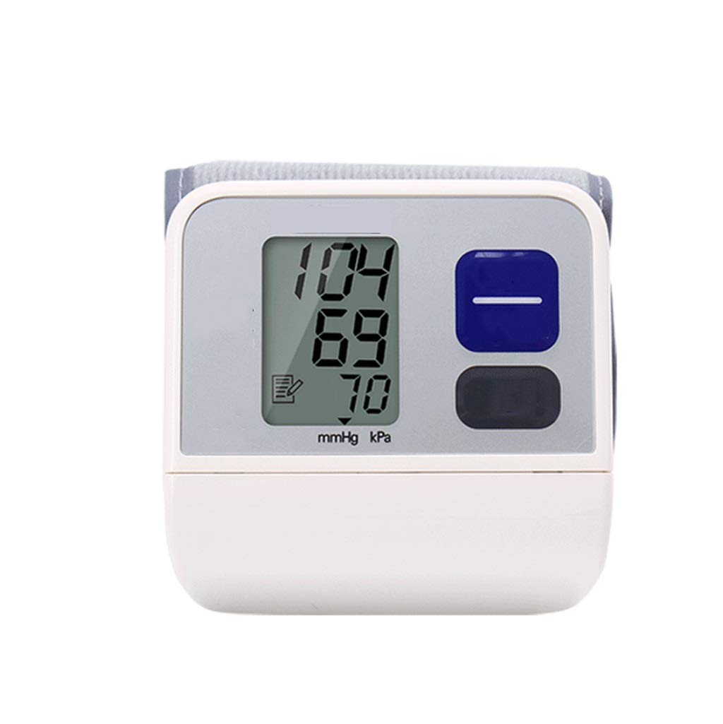ZWS Sphygmomanometer Home Electronic Blood Pressure Monitor Wrist Type Home Automatic Blood Pressure Measuring Instrument Accurate Measurement Blood Pressure Measurement