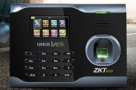 Amazon com: ZK U160 Fingerprint Time Attendance WIFI TCP/IP