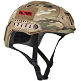 OneTigris Protective Airsoft Paintball Tactical Helmet without Goggles (Multicam)
