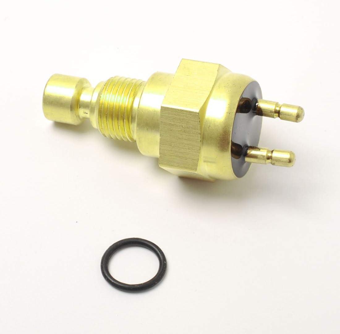 Fit for Kawasaki 27010-1202 Mojave 1989-2000 Color : Rose Gold Capteur de temp/érature de lair ext/érieur Moto ventilateur commutateur capteur