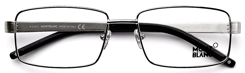 Amazon.com: MontBlanc MB304 - Gafas para hombre, 2.165 in ...