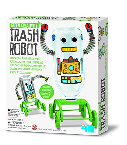 4M Green Creativity Trash Robot