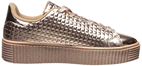 Sneaker Paisley-01 Qupid Donna In Oro Rosa