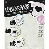 Plaid PLA91994 Chalkboard Paint Fabric Kit Heart Stencil