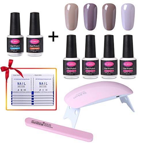nail polish basic colors set - 5