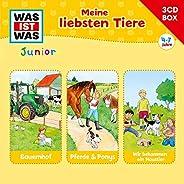 Was Ist Was Junior-3-CD Hörspielbox Vol.3 Tiere