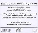 Knappertsbusch: RRG Recordings 1940-1941